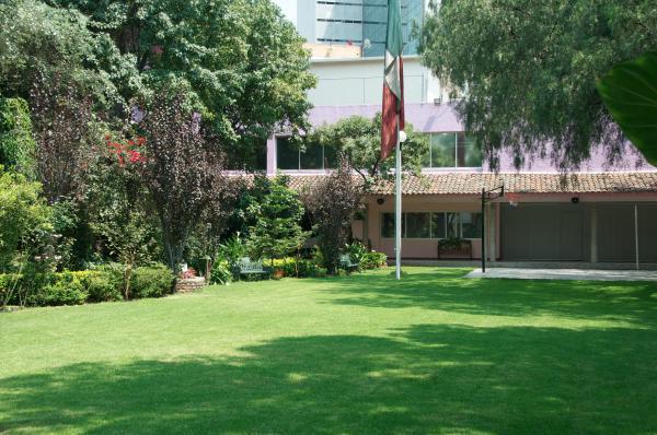 Instalaciones actuales en la calle Selva 4, Insurgentes Cuicuilco