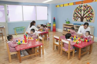 Salón de preescolar