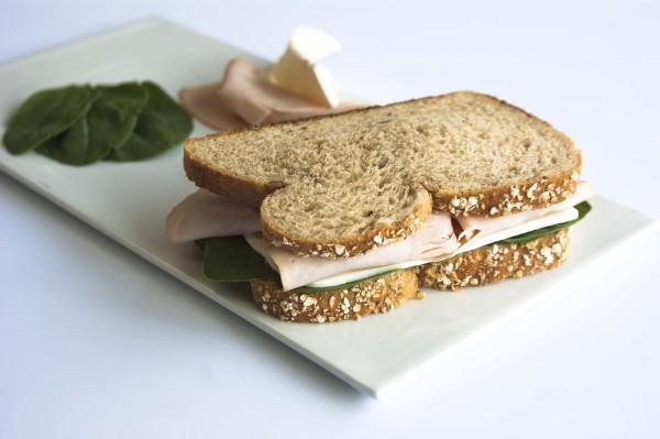 Sándwich de pavo
