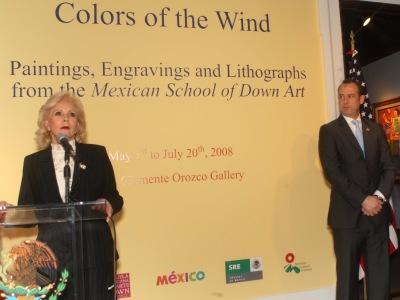 """2008. Exposición en Washington DC """"Colores del viento"""""""