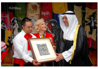 2014. Visita del Embajador de Kuwait en México Sameeh Essa Johar Hayat