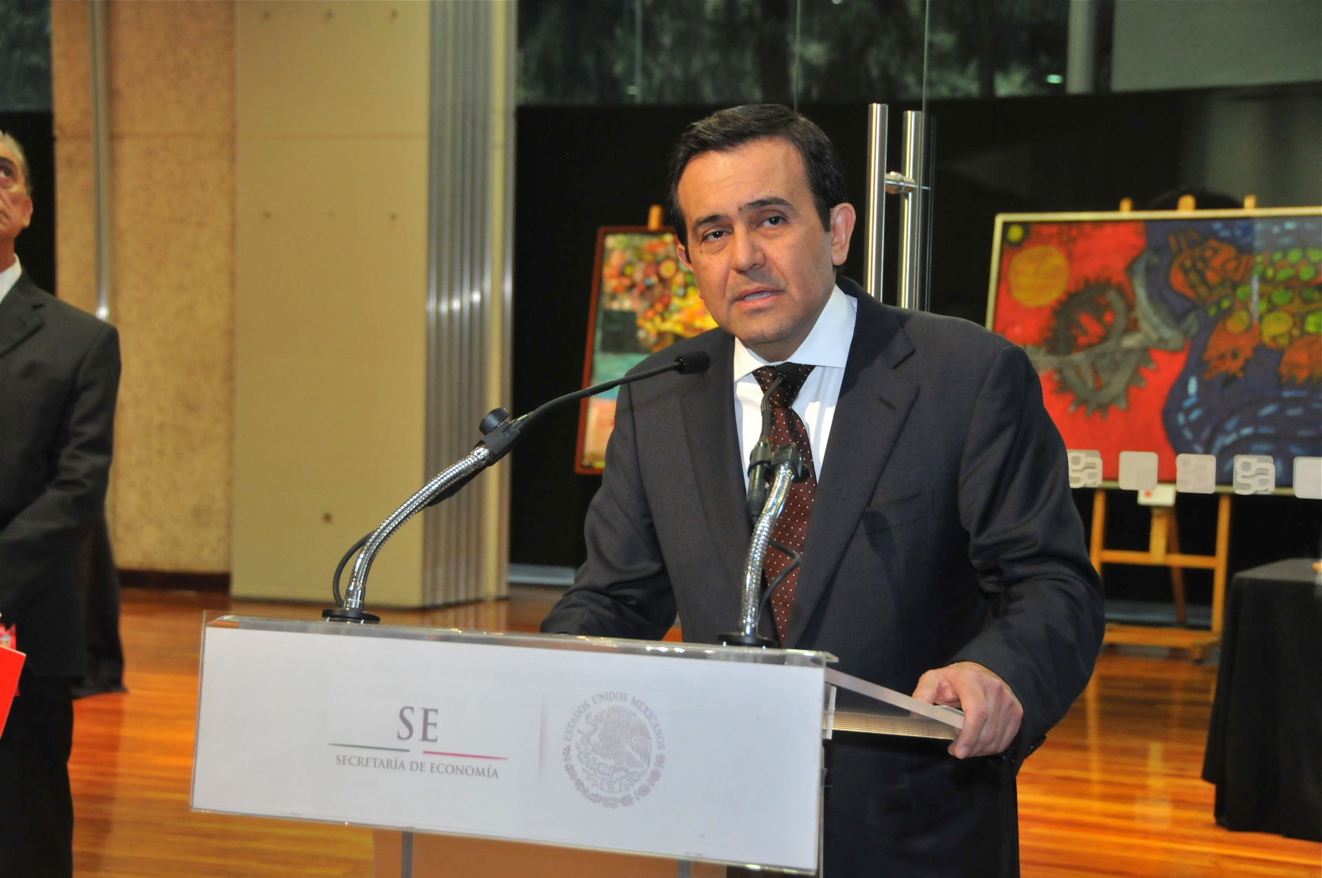 Ildefonso Guajardo Villarrreal, Secretario de Economía