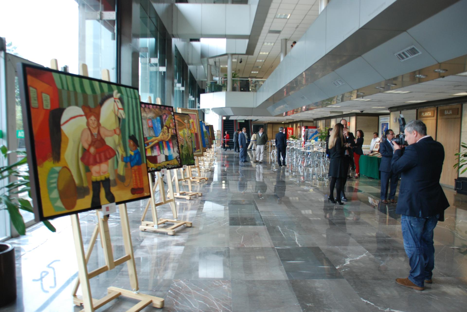 Exposición en PEMEX
