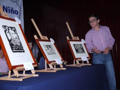 """""""La Casa del Niño del Pedregal"""" subasta reproducciones y grabados de nuestros artistas"""