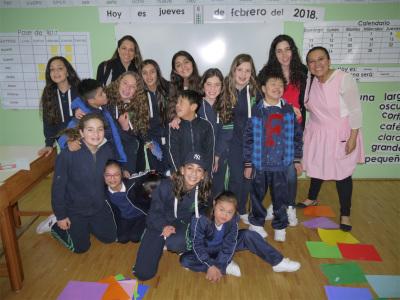Visita del Colegio ATID