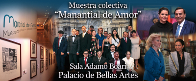 """""""Manantial de Amor"""" en Bellas Artes"""