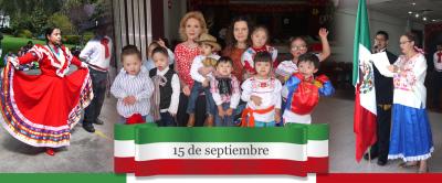 Festejo de Independencia 15 de septiembre 2018