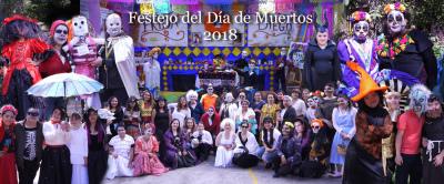 Festejo de día de muertos 2018