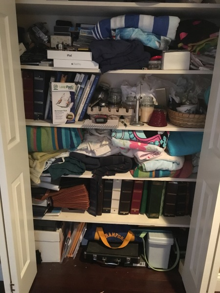 The Linen Closet (that was anything but!)