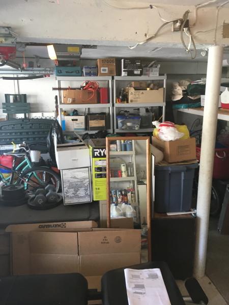 We literally flipped the whole garage around