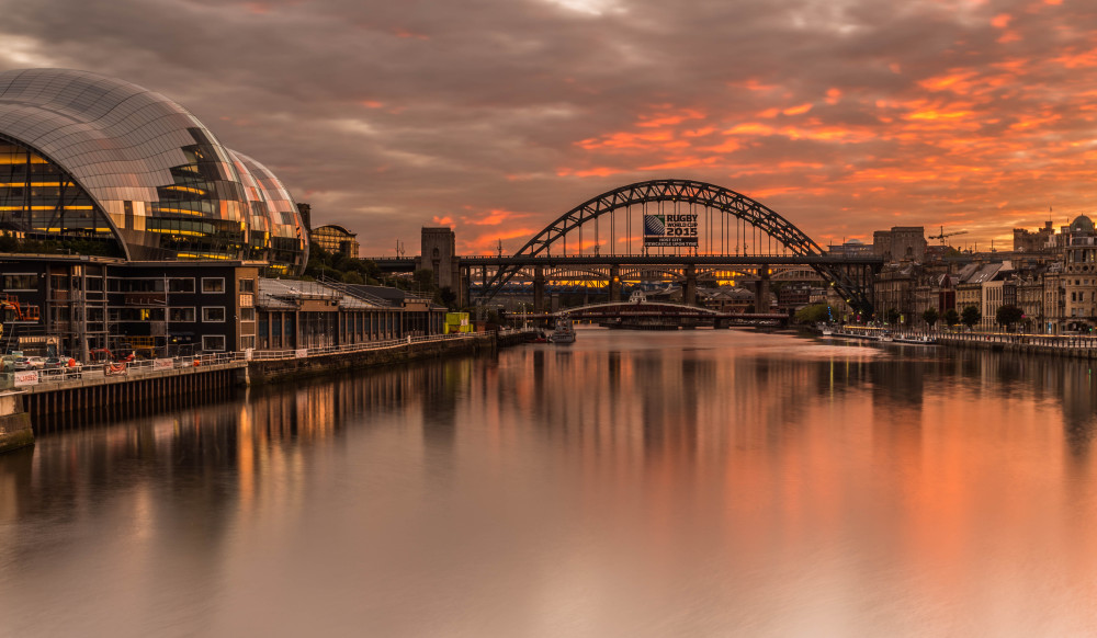 http://johncarsonsphotography.co.uk/tyne-bridge-sunset