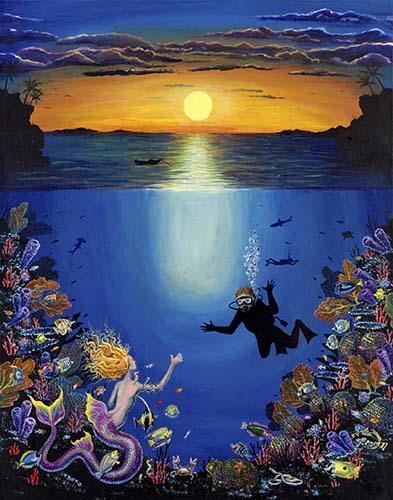 Aquatic Close Encounter