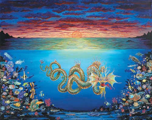 Sunset Sea Dragon