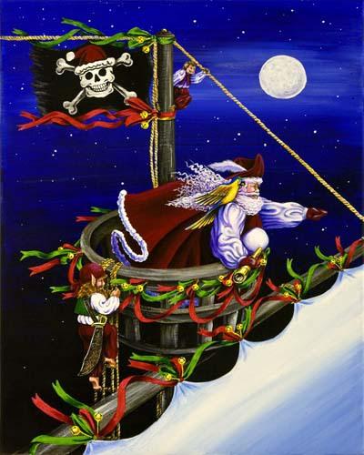 Pirate Santa