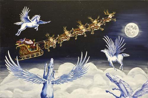 Santa's Escort