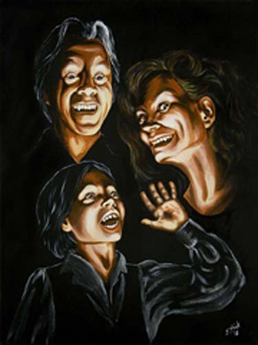 Vampire Family Portrait