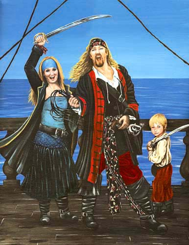 The Pirate Family