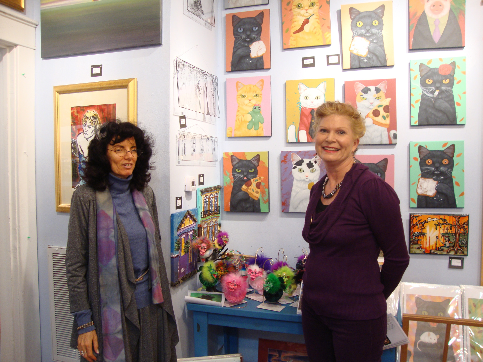 Elizabeth Shick at The Great Artists Collective in New Orleans Louisiana