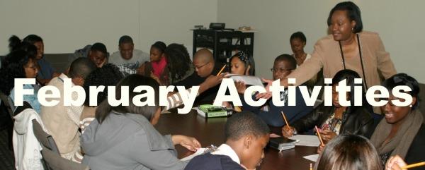 February College Planning Cohort Activities