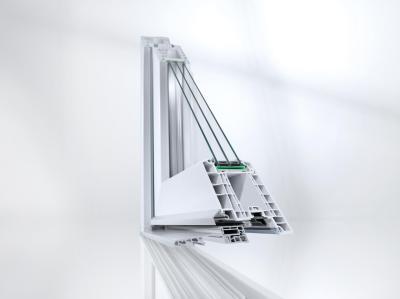 Châssis de fenêtre - PVC - aluminium