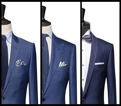 Made to Measure Suit style templates