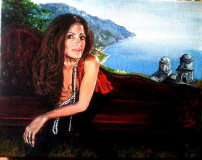 Linda at Amalfi - private collection