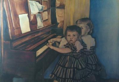 The Piano Players - private collection