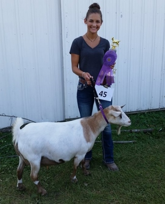 Grand Champion Myotonic Doe 2017 Jackson County Fair