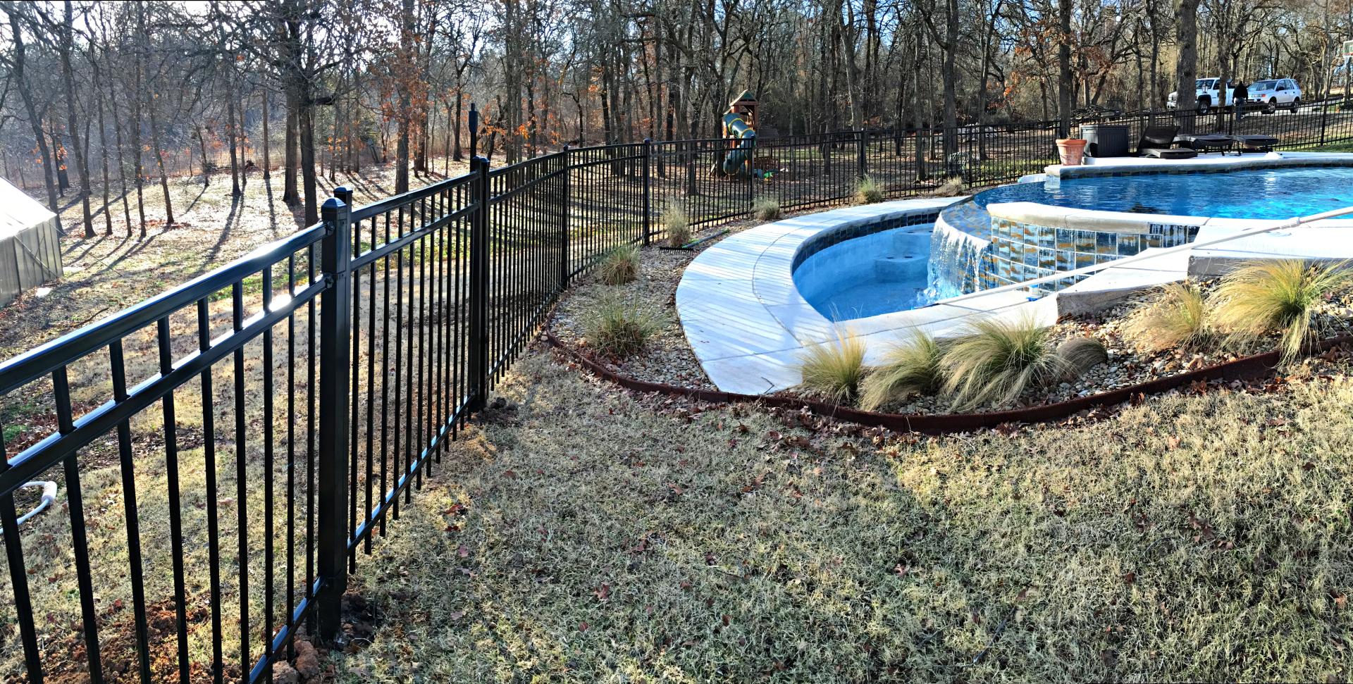 Ameristar Iron Montage Pool Fence Edmond Oklahoma Fence Gate Company