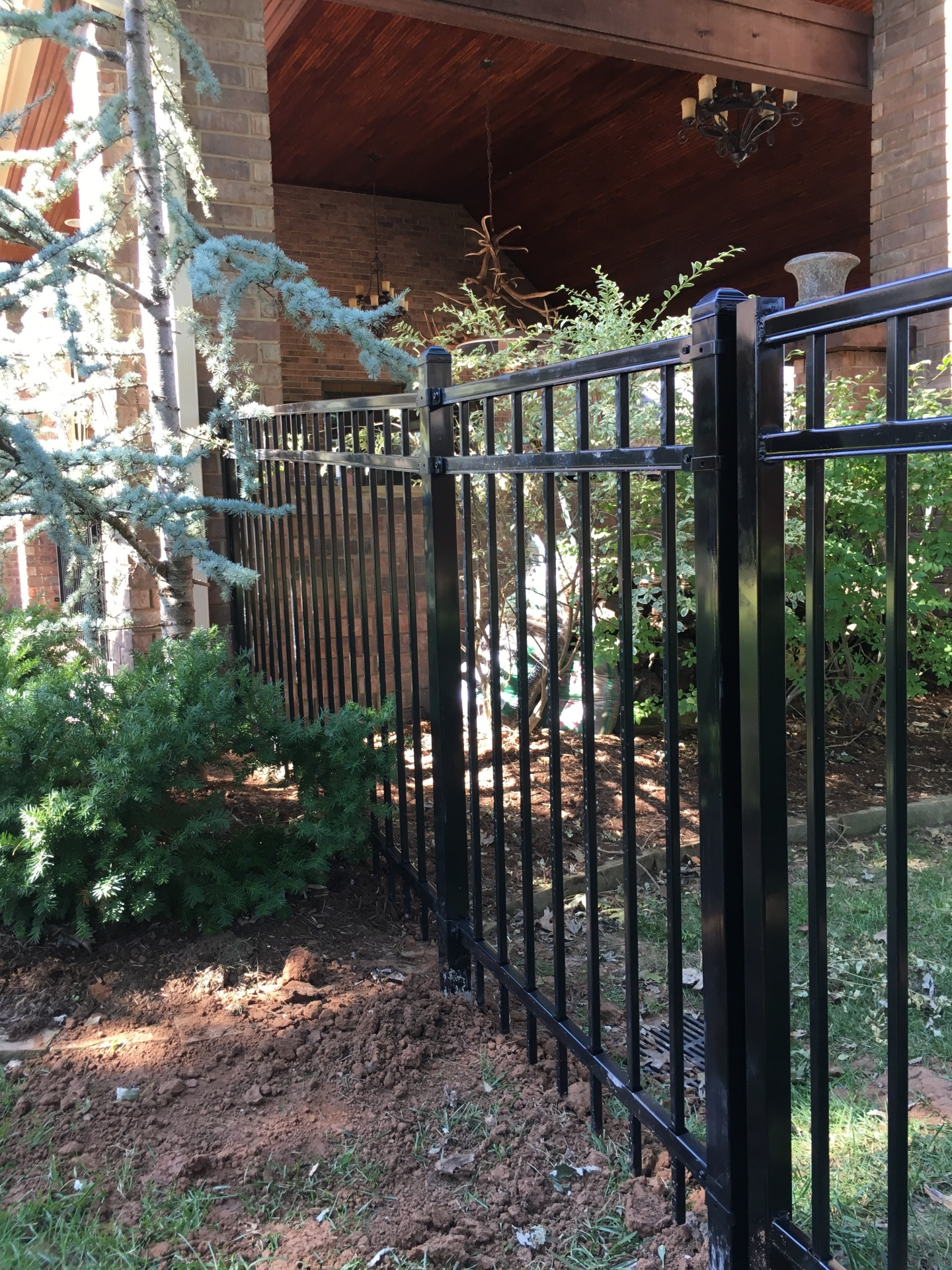 Black Iron Fence, Ameristar Fence, Edmond Oklahoma Fence Company, Secure Fence, Security