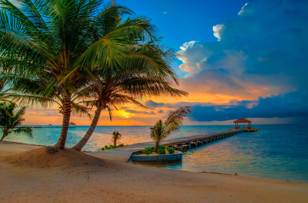 Sunrise - Belize, C.A.