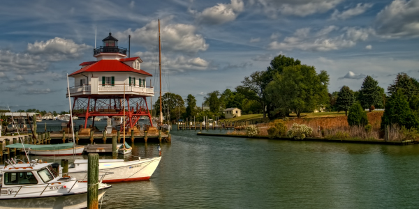 Drum Inlet Lighthouse - Solomans Island, MD