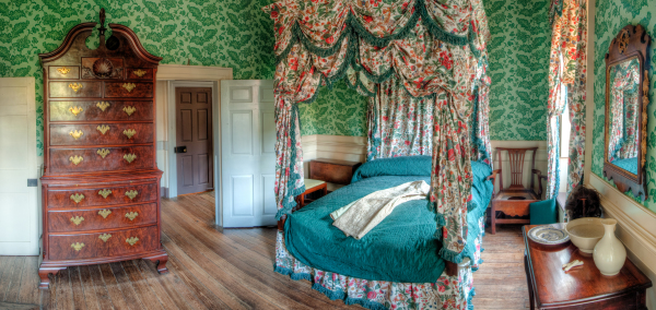 John Carlyle House, Bed Chamber - Alexandria, VA