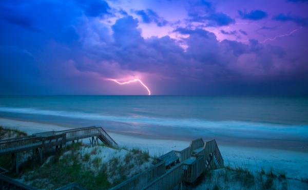 Lightning - Topsail Island, NC