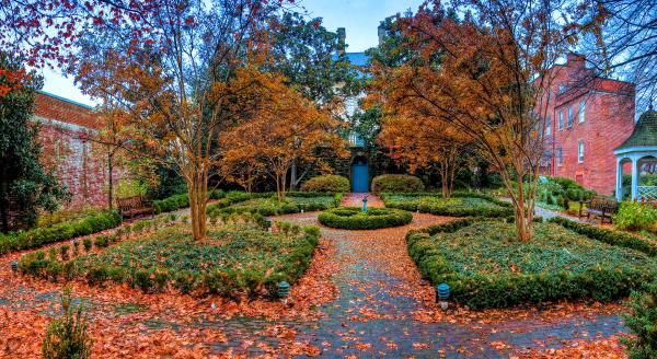 Carlyle House Garden - Alexandria, VA