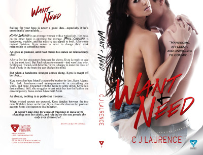 Its Here - Want & Need Cover Reveal!