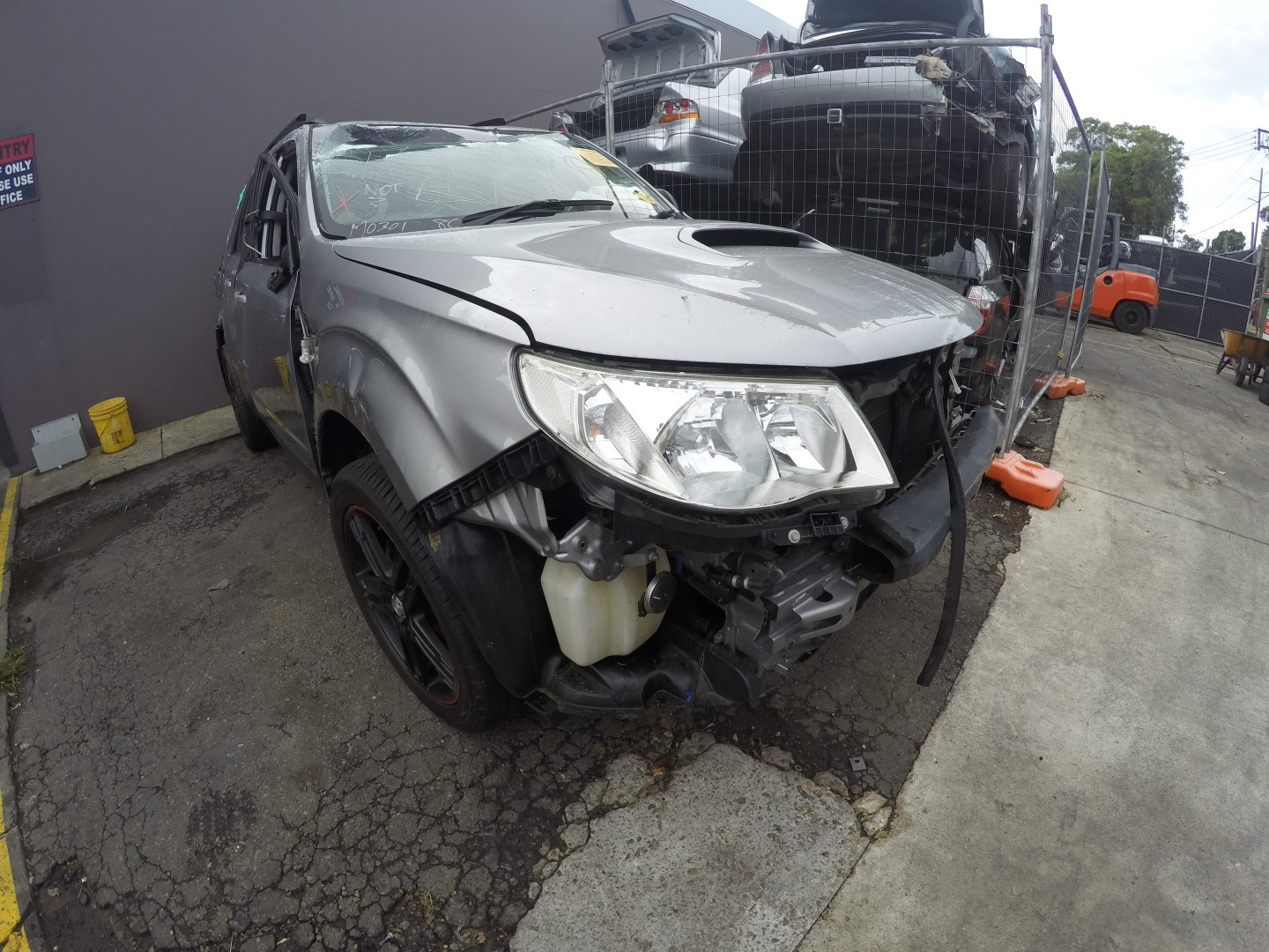 Subaru Wrecking Forester 09 EJ25 Turbo Engine Parts Spares