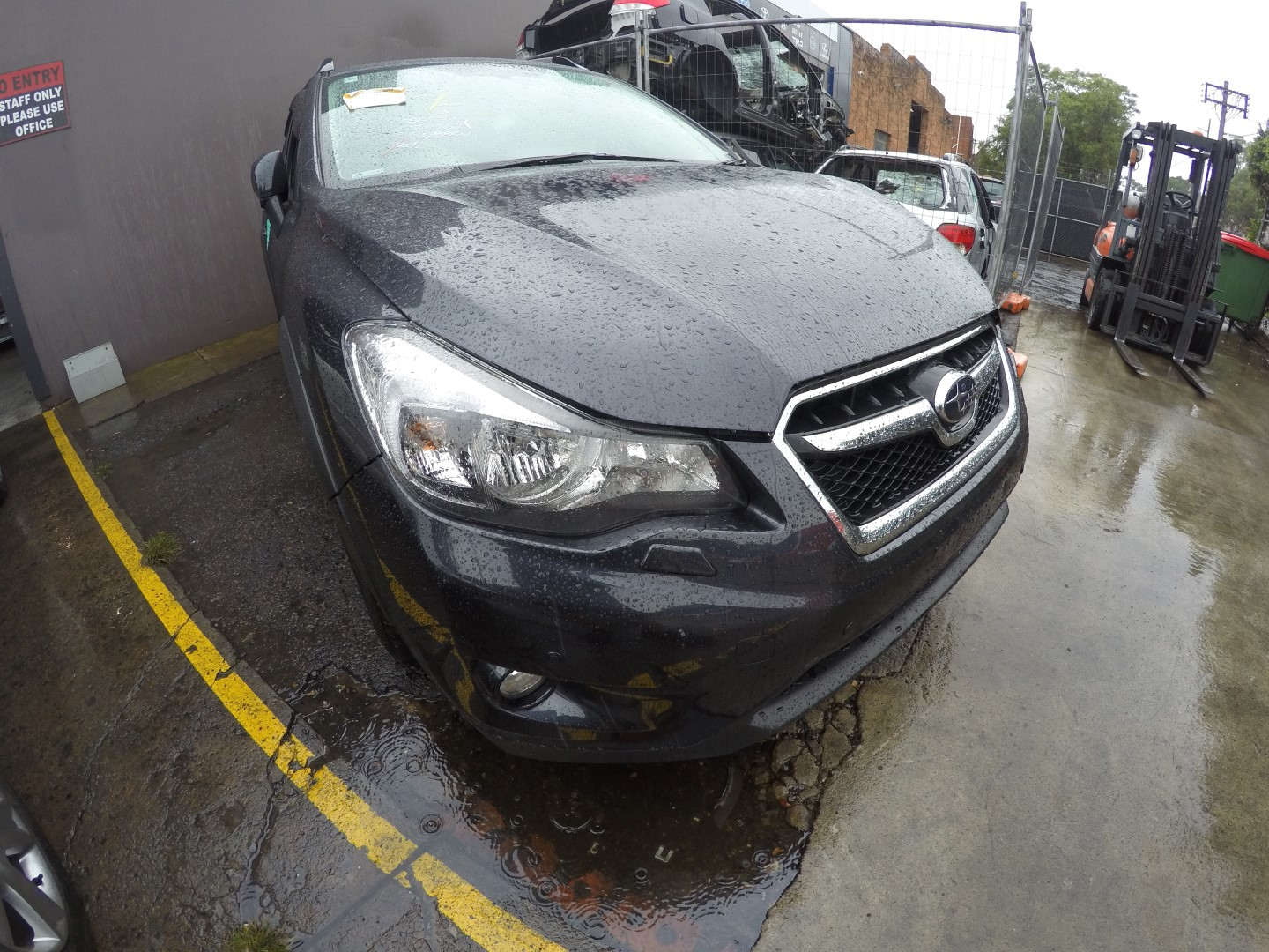 Subaru Wrecking XV Black Parts Spares FB20 Leathers 2013