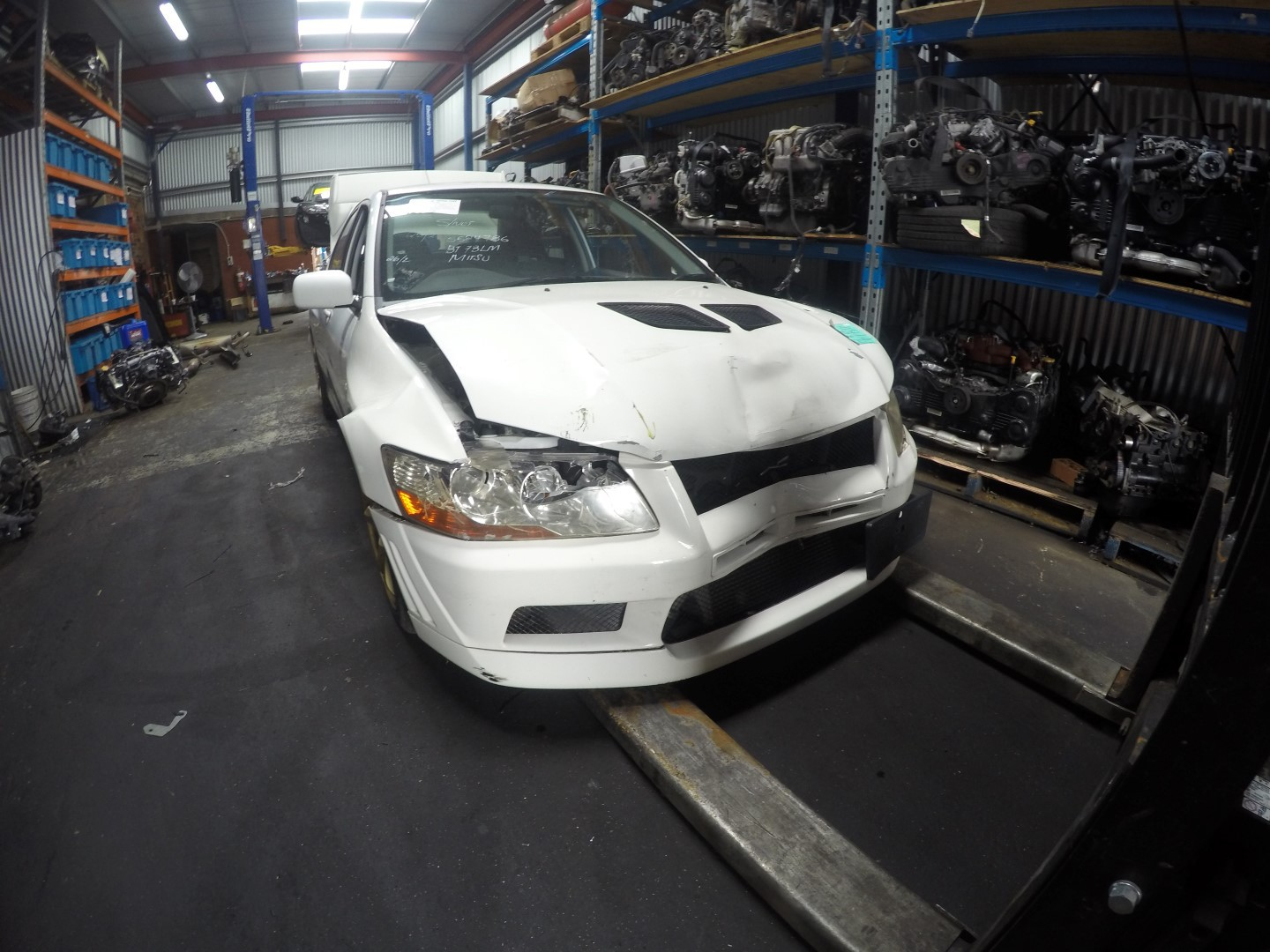 Mitsubishi Wrecking EVO Evolution 7 4G63 Engine Gearbox Transfer AYC