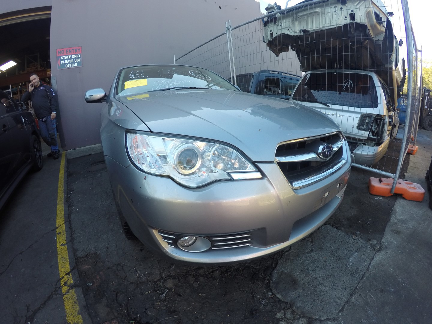 Subaru Wrecking Liberty 08 EZ30 AUTO CVT Tan Interior Engine