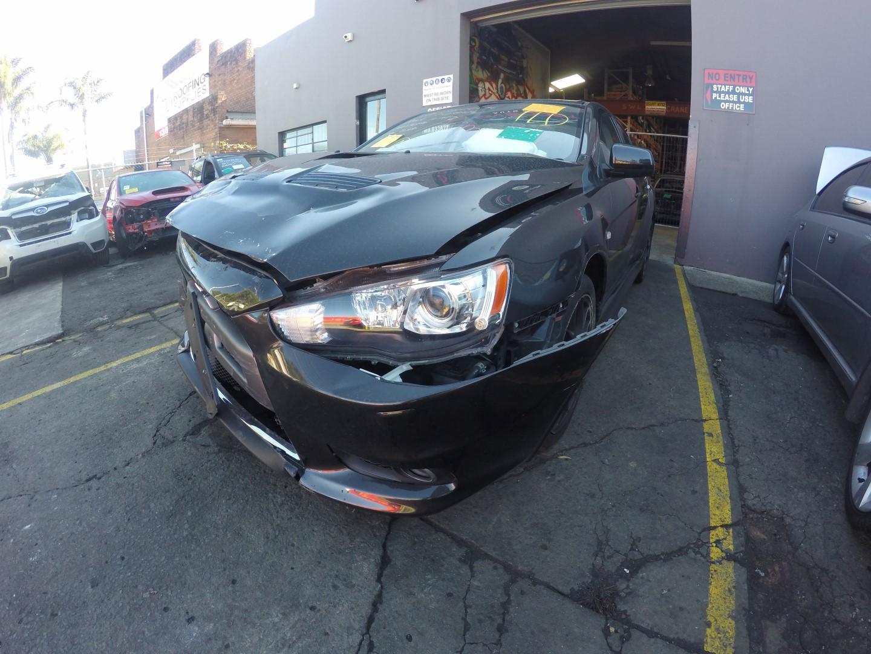 Mitsubishi Wrecking EVO 10 MR Recaro 4B11 SST Gearbox Seat Lancer
