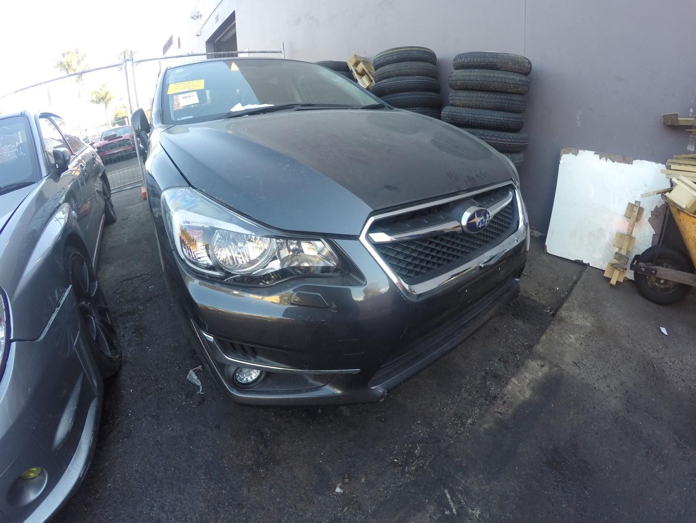 Subaru Wrecking Impreza G4 Series 2 2016 Navigation Rims Leather