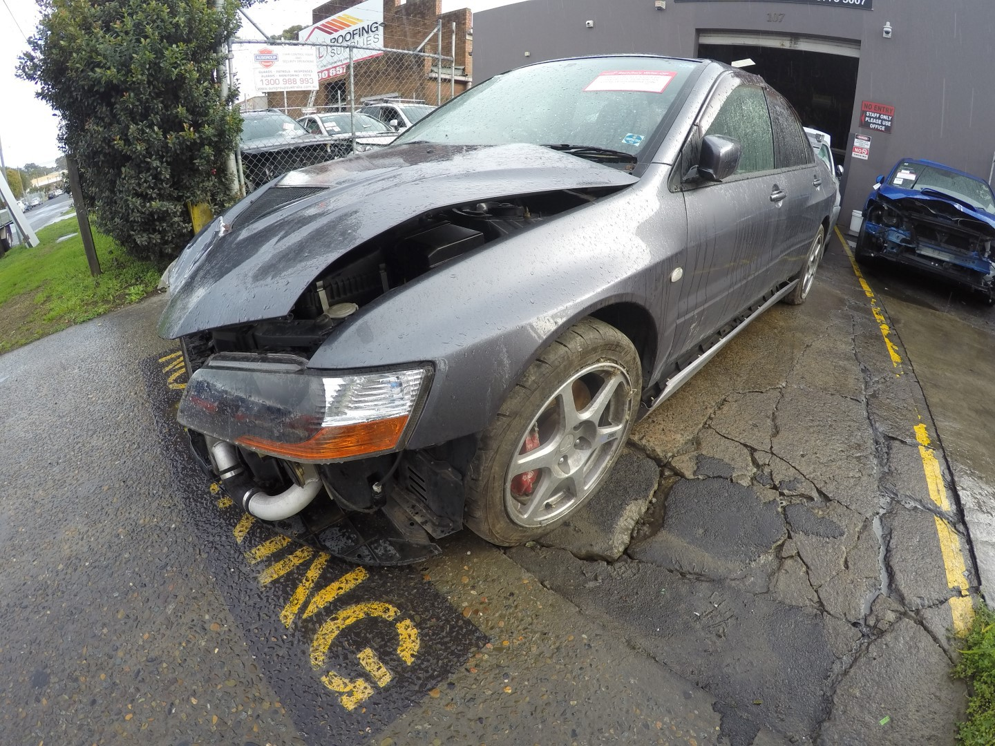 Mitsubishi Wrecking Lancer Evolution 8 MR Spare Parts