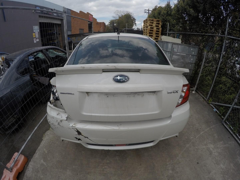 Subaru Wrecking WRX Impreza 2012 White Spare Parts OBA