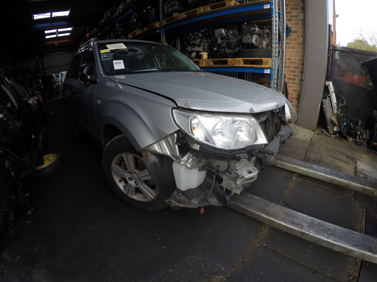 Subaru Forester 2012 Wrecking Silver EJ25 NA Automatic