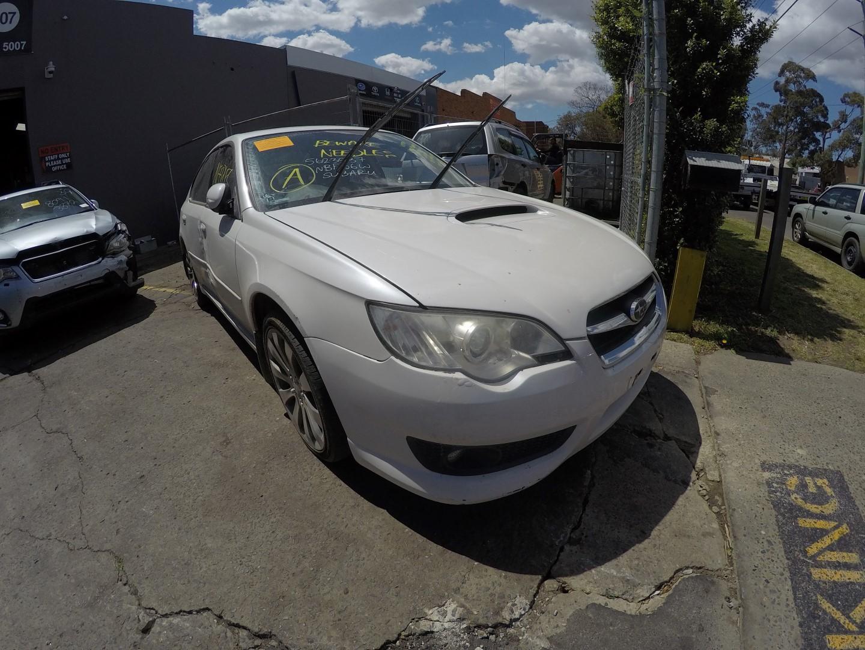 Subaru Wrecking Liberty 2007 White EJ25 Non Turbo Parts Spares