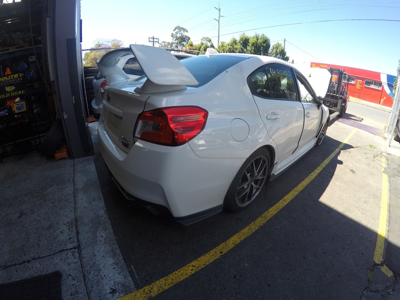 Subaru Wrecking WRX STI 2014 15 16 V1 EJ25 Engine 6 Speed Brembo