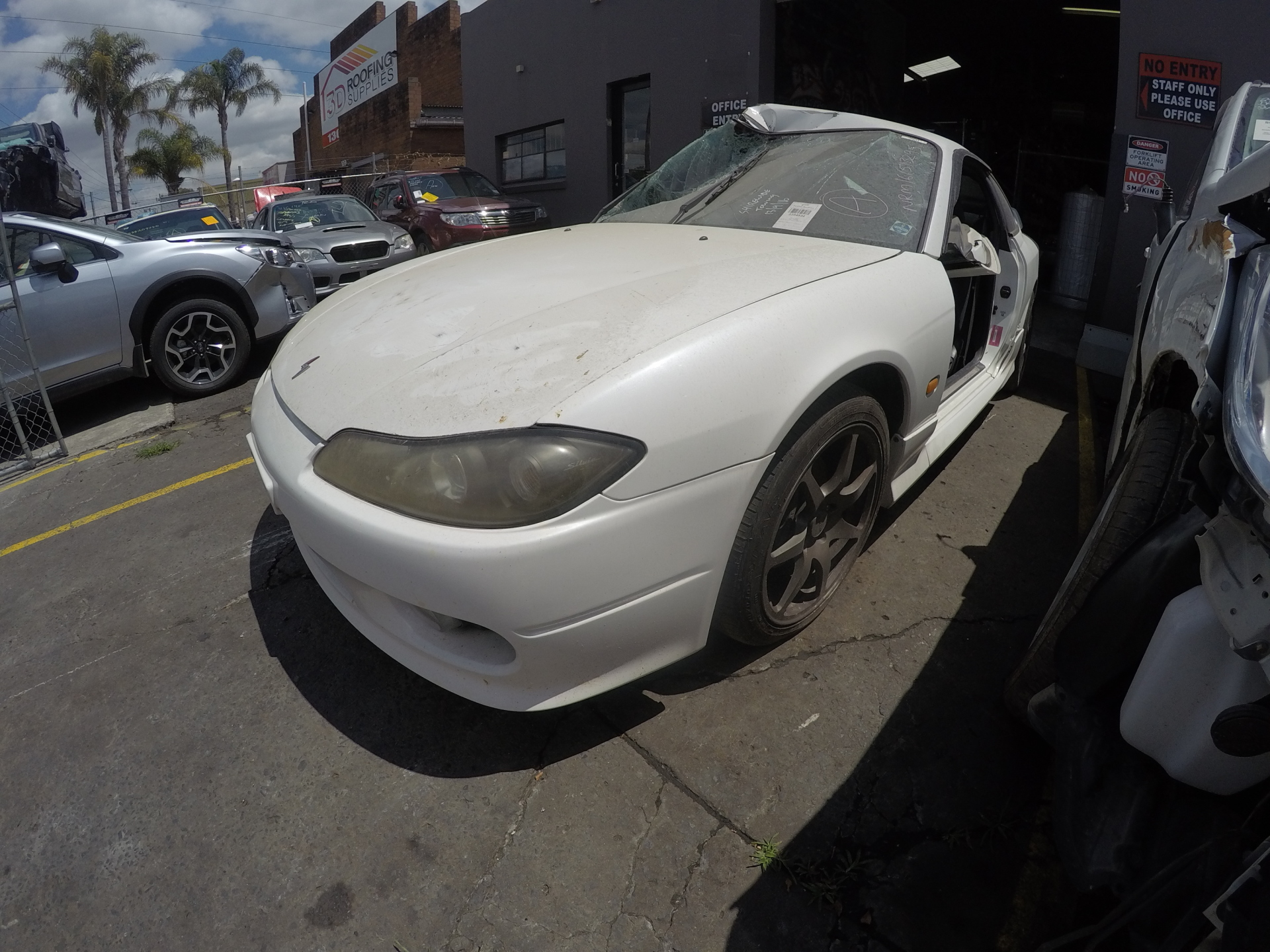 Nissan Wrecking Silvia Coupe 2 Door S15 200SX Spare Parts