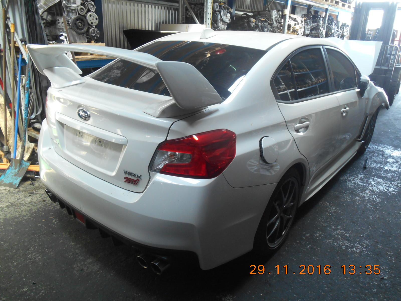 Subaru Wrecking WRX STI MY16 Series 2 White Spare Parts 6 MT