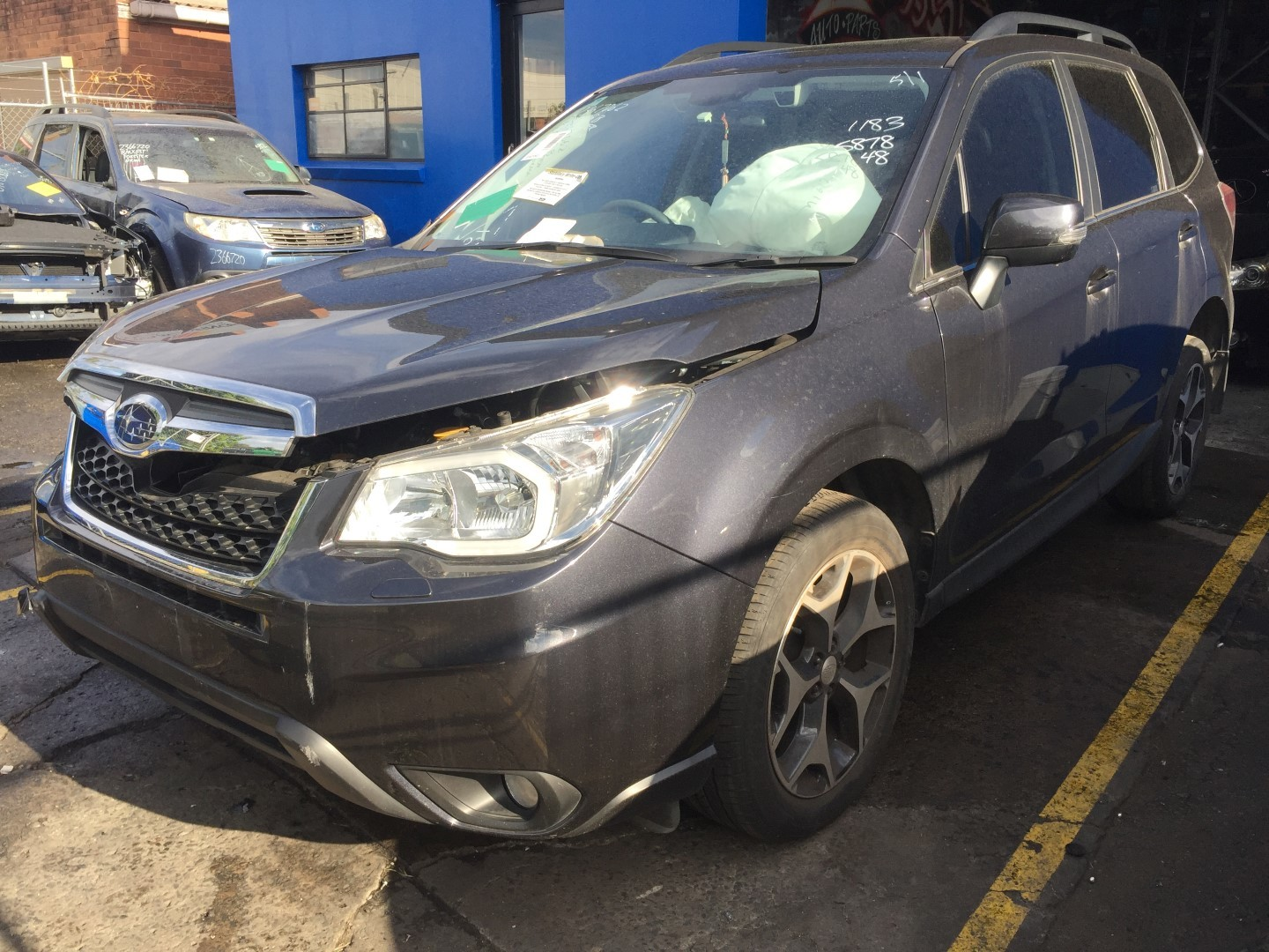 Subaru Wrecking Forester AWD 2015 FB25 Auto Leather Spare Parts